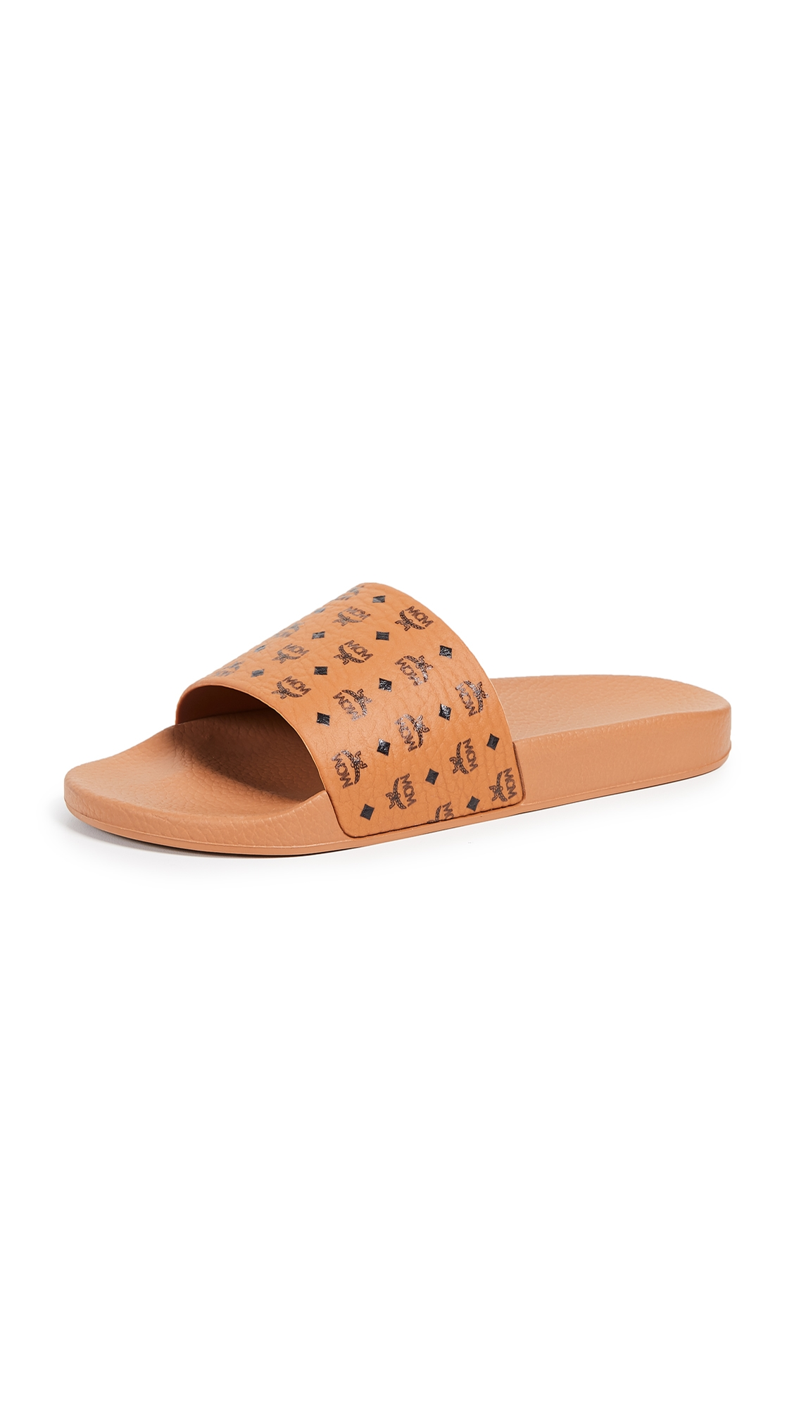 Mcm Slippers LOGO GROUP M. SLIDES