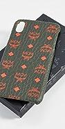 MCM Visetos Original iPhone XS Max Case