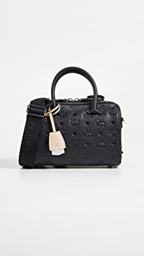 2863694db65305 MCM. Essential Monogrammed Boston Bag