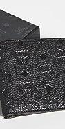 MCM Tivitat Leather Flap Wallet