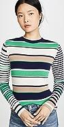 Mads Norgaard Copenhagen Karille Stripe Sweater