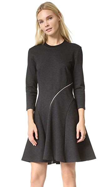 McQ - Alexander McQueen Ergonomic Zip Dress