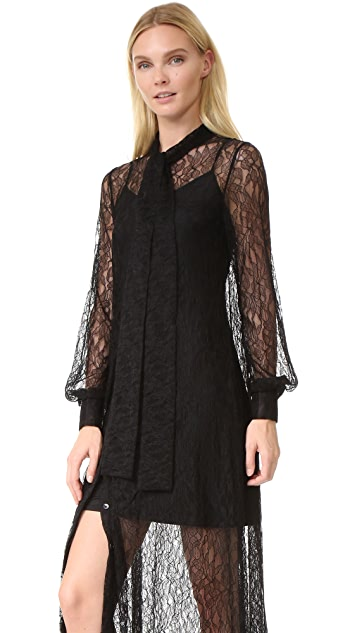 McQ - Alexander McQueen Lace Gown