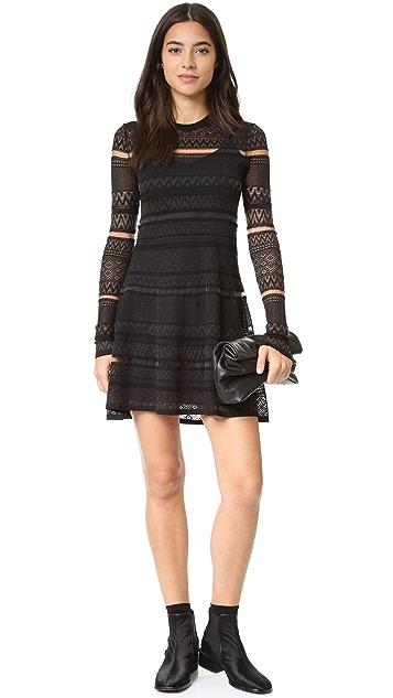 McQ - Alexander McQueen Geo Lace Dress
