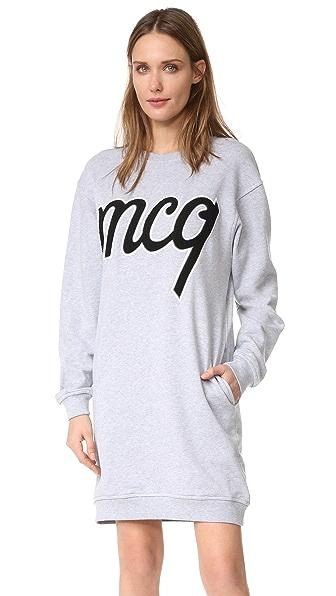 McQ - Alexander McQueen Классическое платье-толстовка