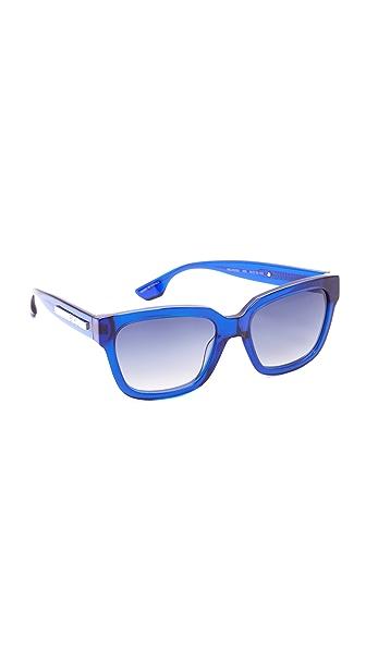 McQ - Alexander McQueen Солнцезащитные очки в квадратной оправе