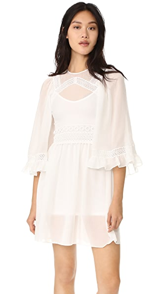 McQ Alexander McQueen Volume Sleeve Dress