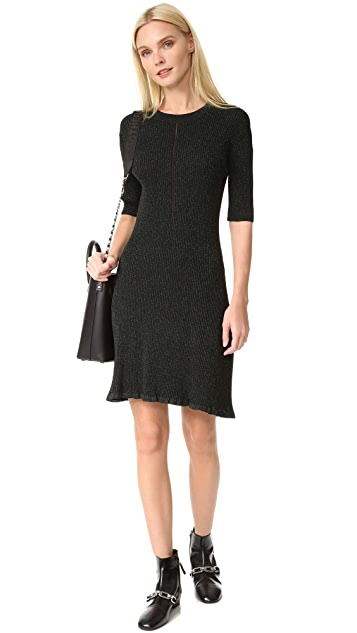 McQ - Alexander McQueen Crochet Skater Dress