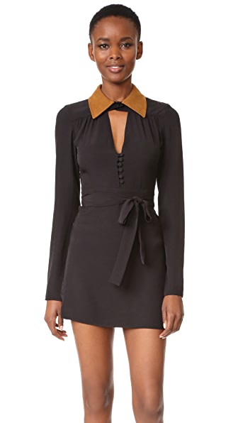 McQ Alexander McQueen Collar Dress