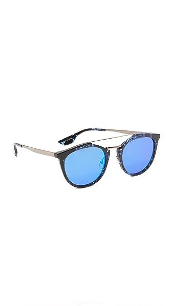 McQ - Alexander McQueen Зеркальные солнцезащитные очки Oxford