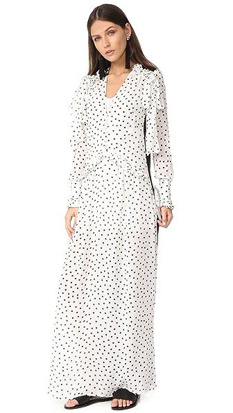McQ Alexander McQueen Pussybow Seam Dress
