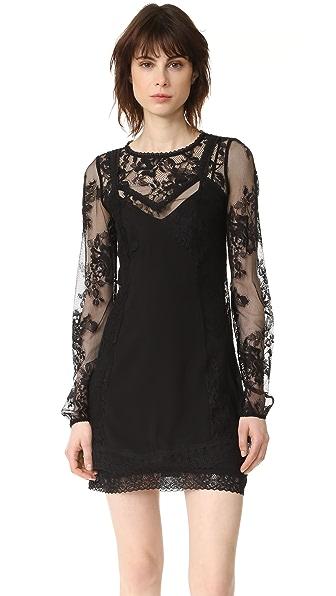 McQ - Alexander McQueen Lace Slip Dress