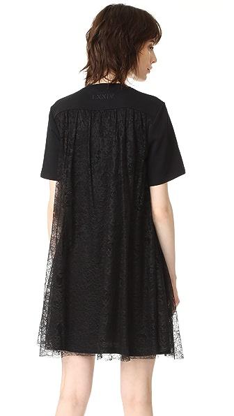 McQ - Alexander McQueen Расклешенное платье со вставками
