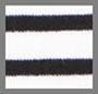 Black/White Striped