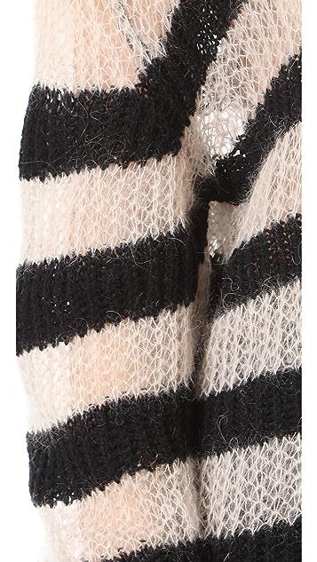McQ - Alexander McQueen Stripe Crew Sweater