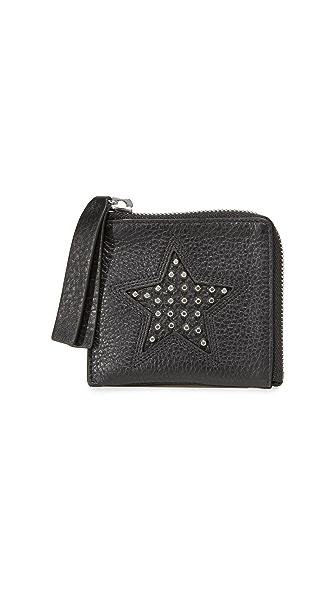 McQ - Alexander McQueen Solstice Zip Wallet In Black