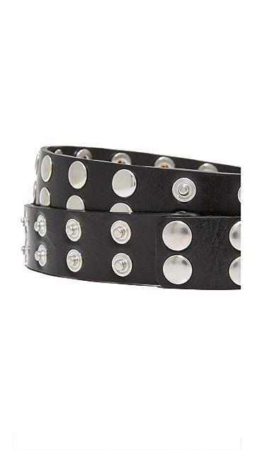 McQ - Alexander McQueen Popper Belt