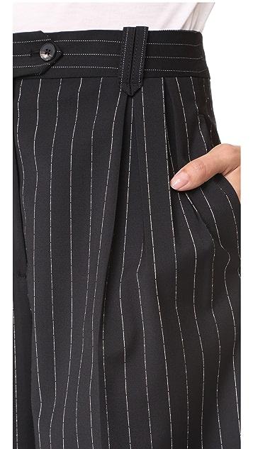 McQ - Alexander McQueen Double Pleat Trousers