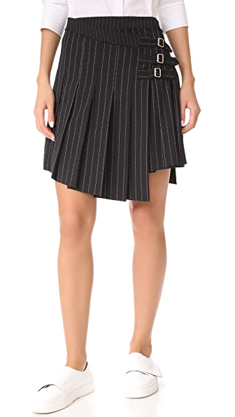 McQ - Alexander McQueen Wrap Kilt Skirt - Darkest Black