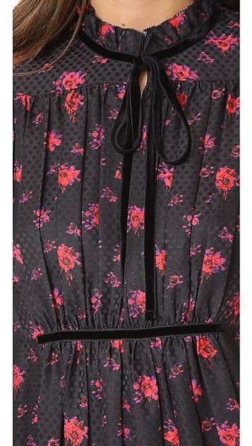 McQ - Alexander McQueen Short Pleated Dress