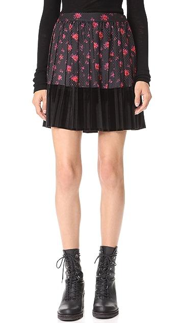 McQ - Alexander McQueen Short Pleat Skirt