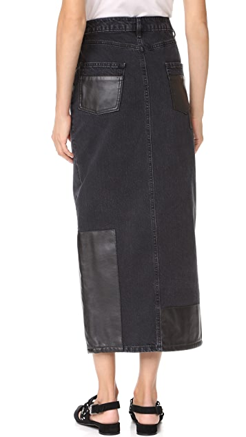 McQ - Alexander McQueen Recycled Tube Skirt