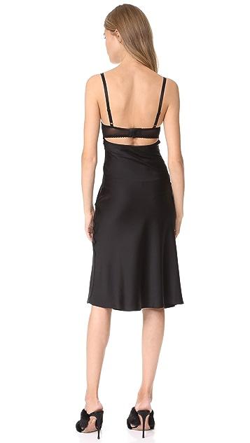 McQ - Alexander McQueen Bra Bias Dress