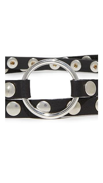 McQ - Alexander McQueen Double Wrap Belt