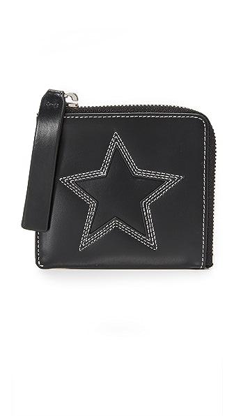 McQ - Alexander McQueen Zip Wallet - Black