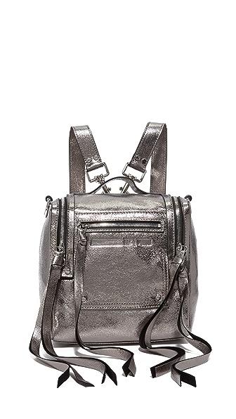 McQ - Alexander McQueen Mini Convertible Box Bag In Steel