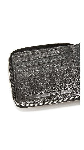 McQ - Alexander McQueen Square Wallet