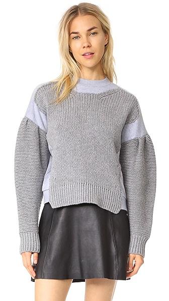 McQ - Alexander McQueen Chunky Knit - Cloud Grey Melange