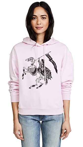 McQ - Alexander McQueen Classic Hoodie In Photocopy Pink