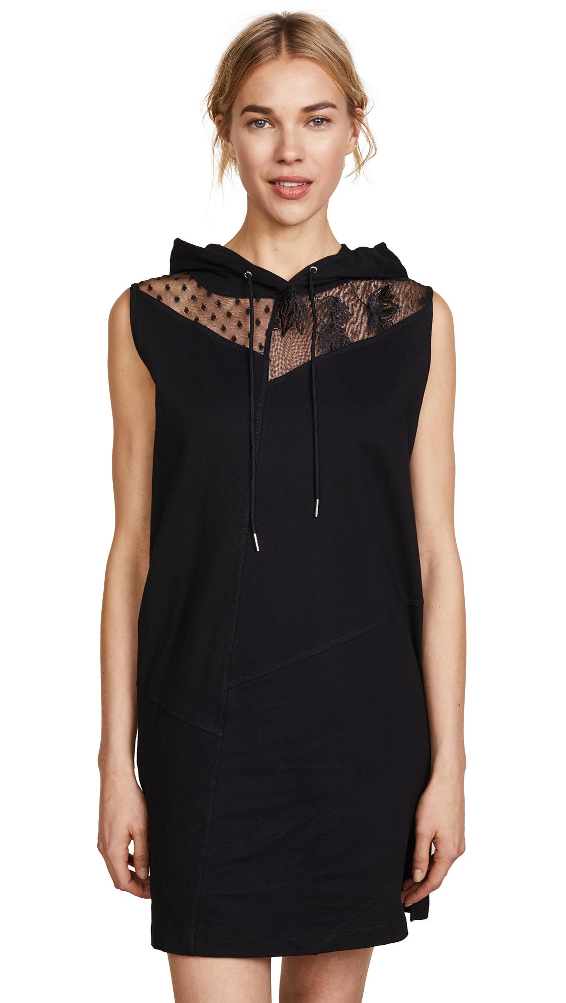 McQ – Alexander McQueen Sleeveless Hoodie Dress