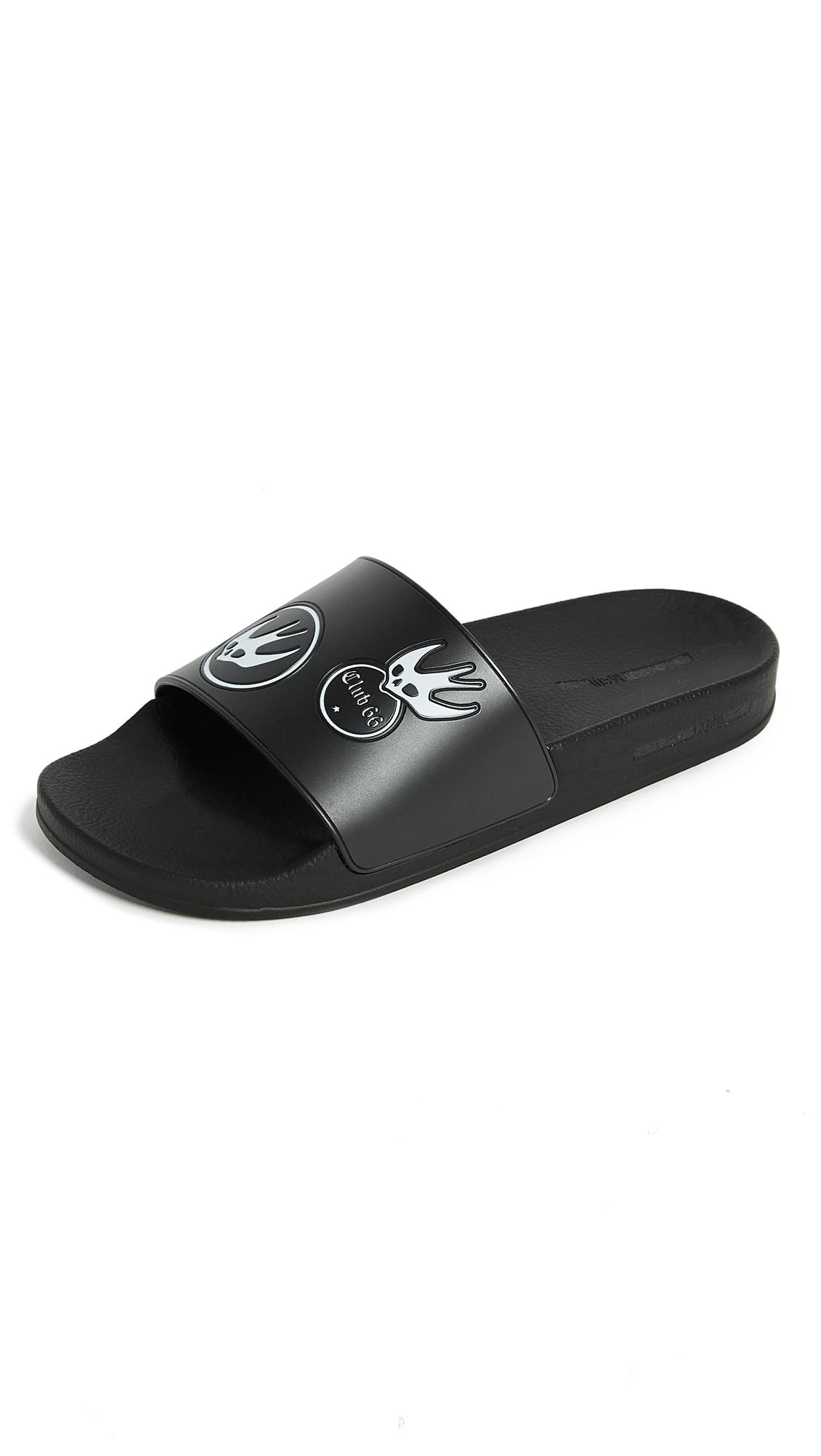 McQ - Alexander McQueen Swallow Slide Sandals