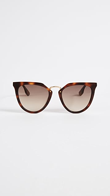 McQ - Alexander McQueen Discord Edgy Cat Eye Sunglasses