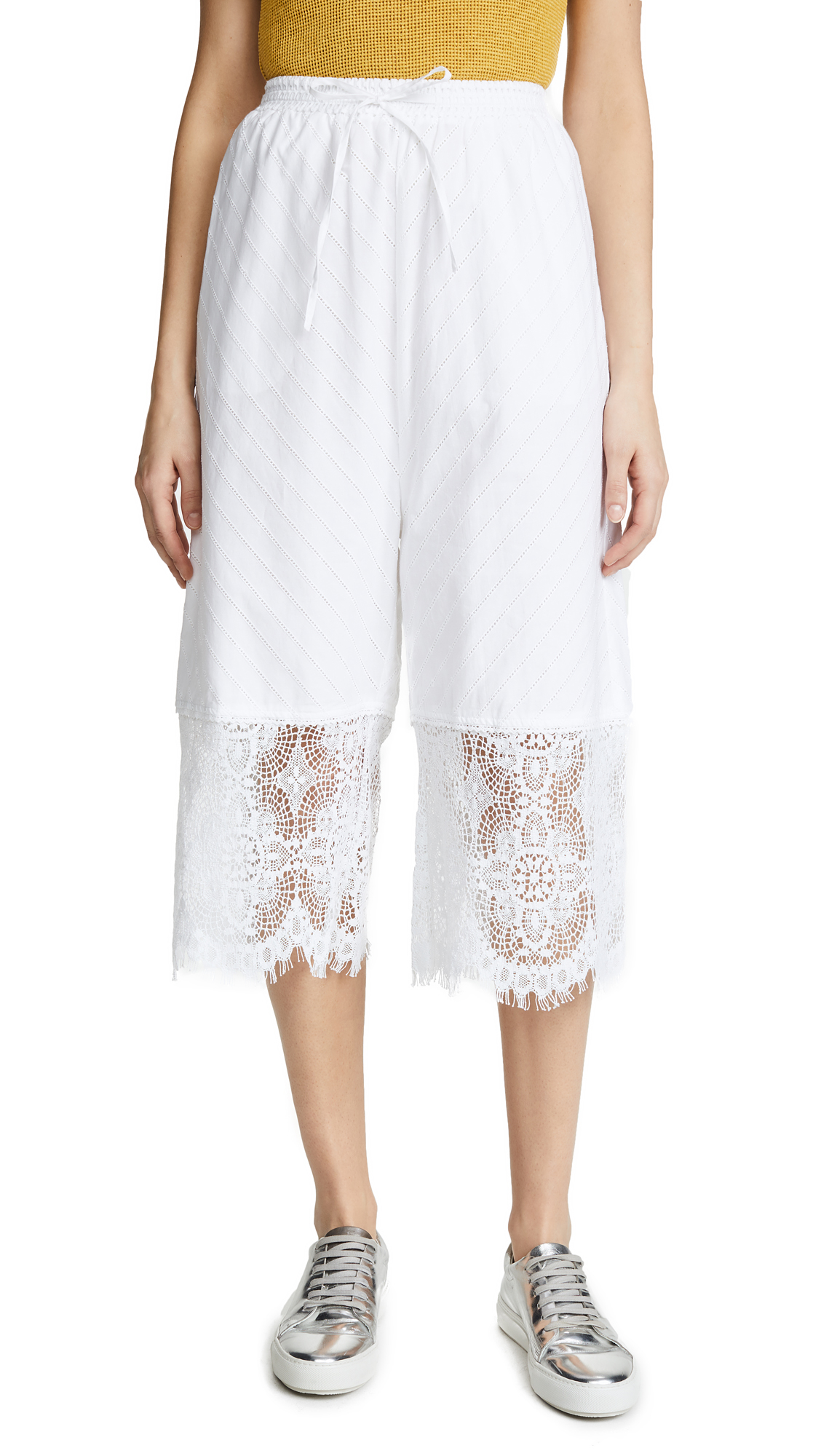 McQ - Alexander McQueen Broderie Summer Pants