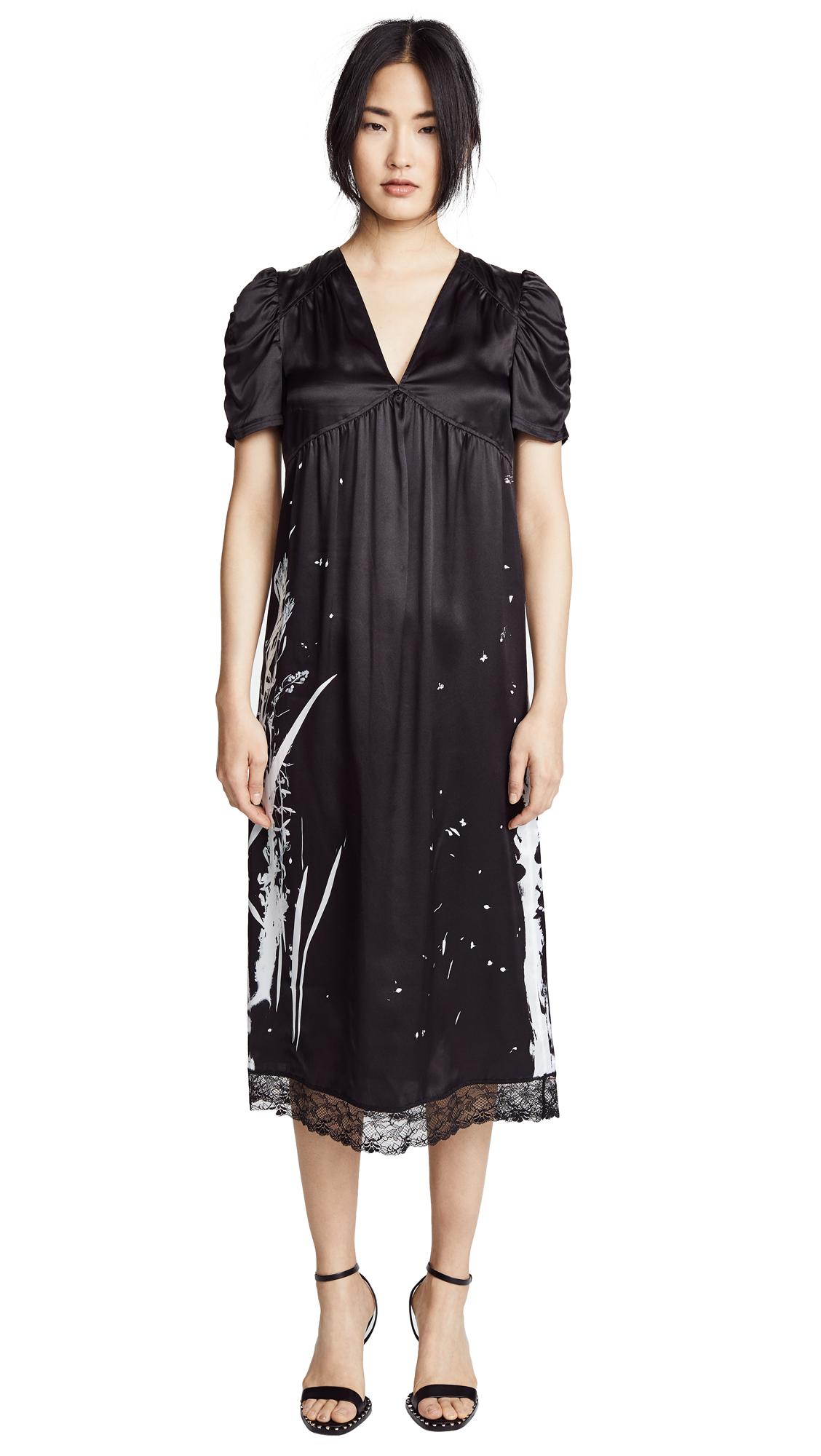 McQ - Alexander McQueen Puff Sleeve Dress