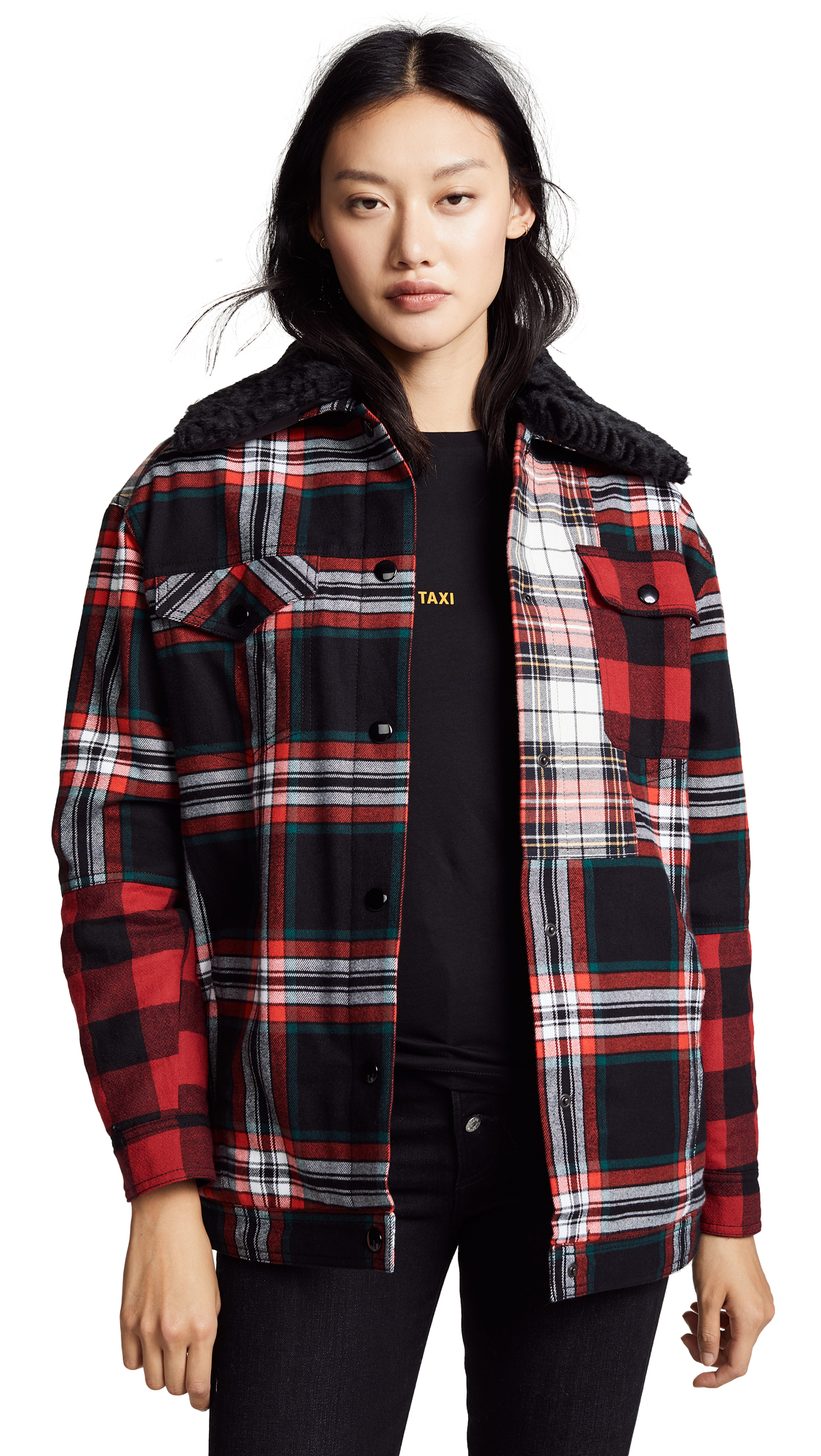 Photo of McQ - Alexander McQueen Tartan Boxy Jacket online jackets sales