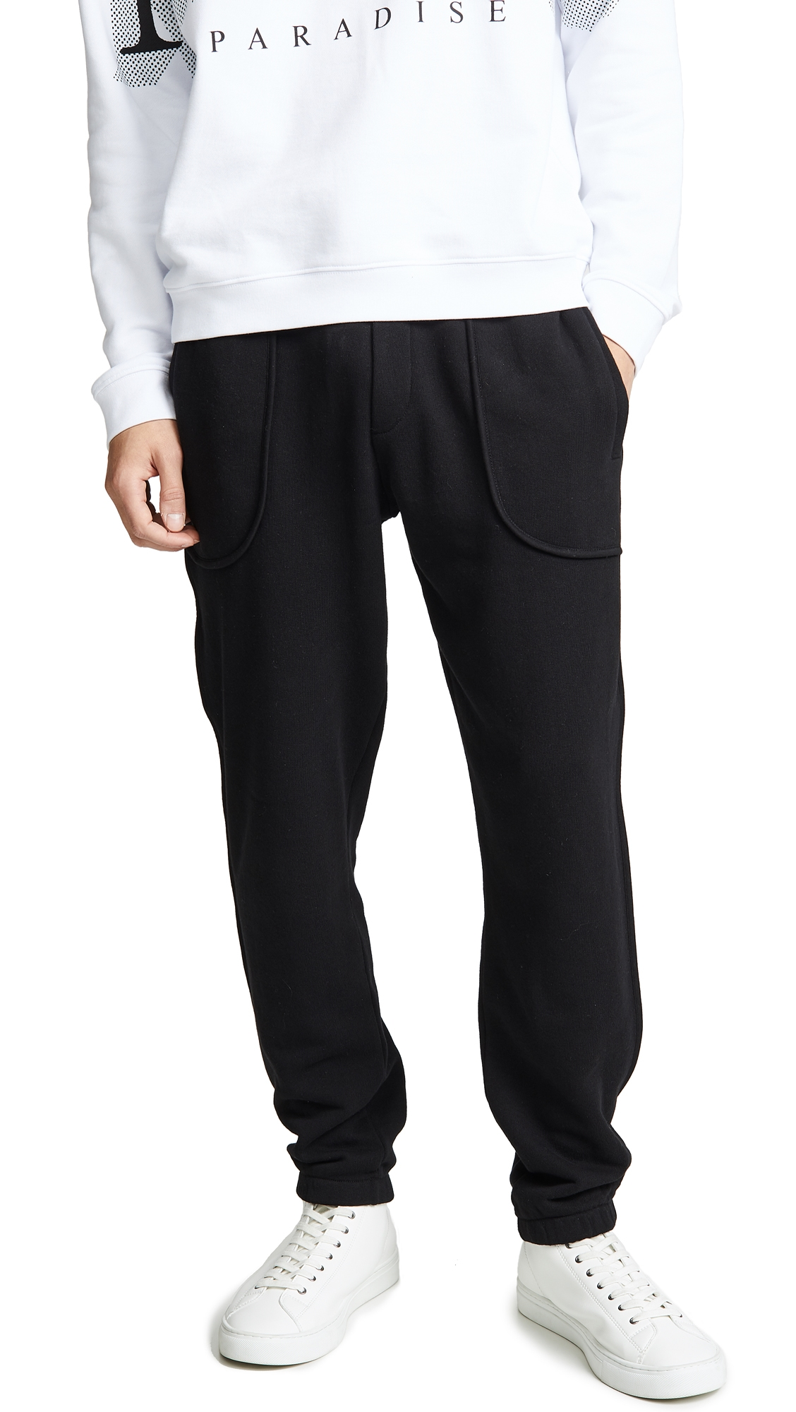 MCQ BY ALEXANDER MCQUEEN INSIDE OUT SWEATPANTS