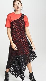 McQ - Alexander McQueen Giri Cut Dress