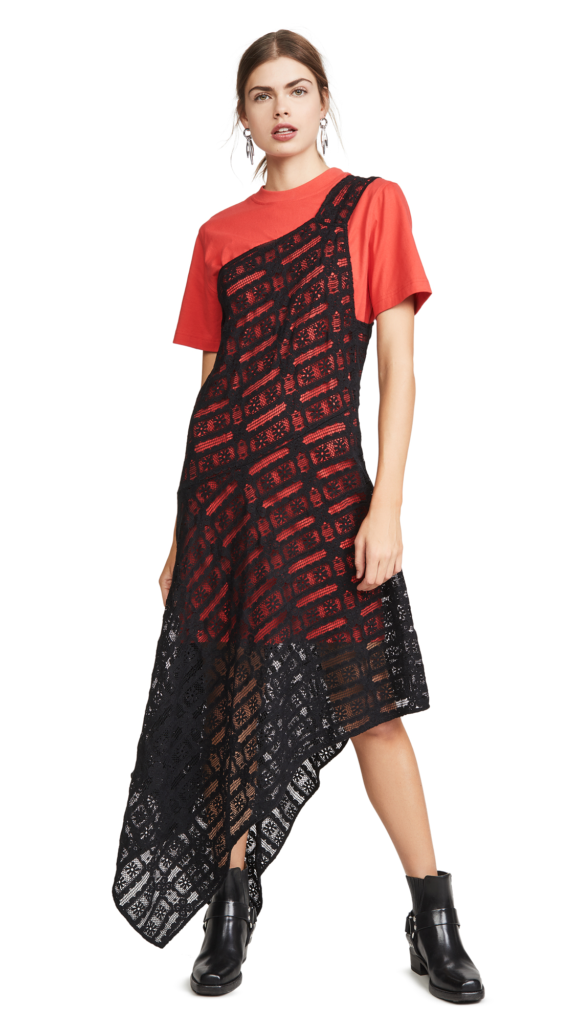 Buy McQ - Alexander McQueen online - photo of McQ - Alexander McQueen Giri Cut Dress