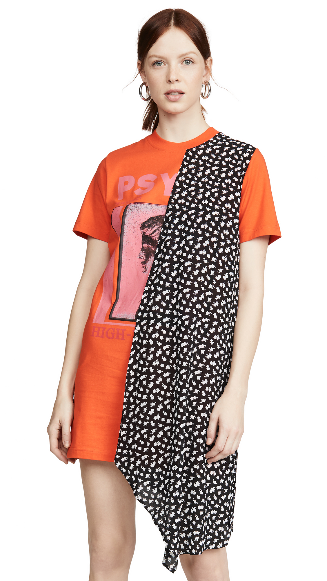 Buy McQ - Alexander McQueen Hybrid Tee Dress online beautiful McQ - Alexander McQueen Clothing, Dresses