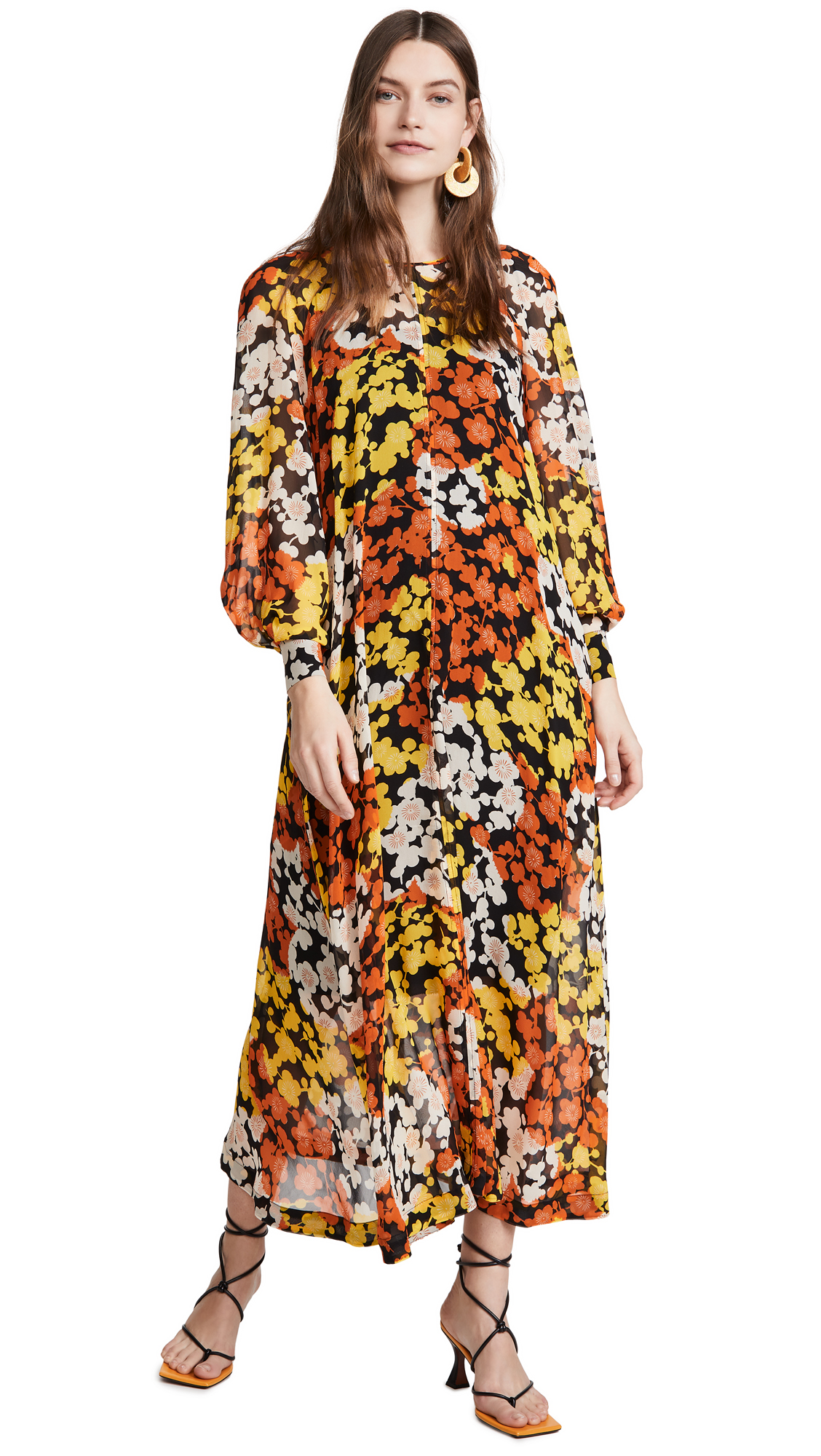 Buy McQ - Alexander McQueen Hisano Maxi Dress online beautiful McQ - Alexander McQueen Clothing, Dresses