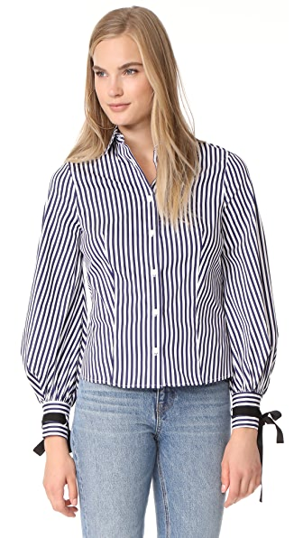 MDS Stripes Beautiful Blouse