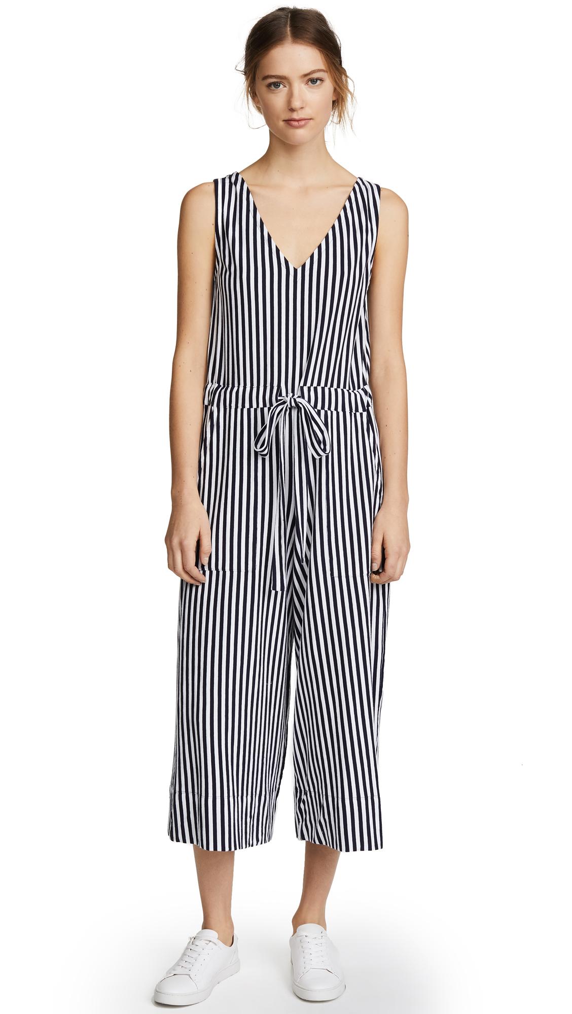MDS Stripes Amanda Jumpsuit - Navy Stripe
