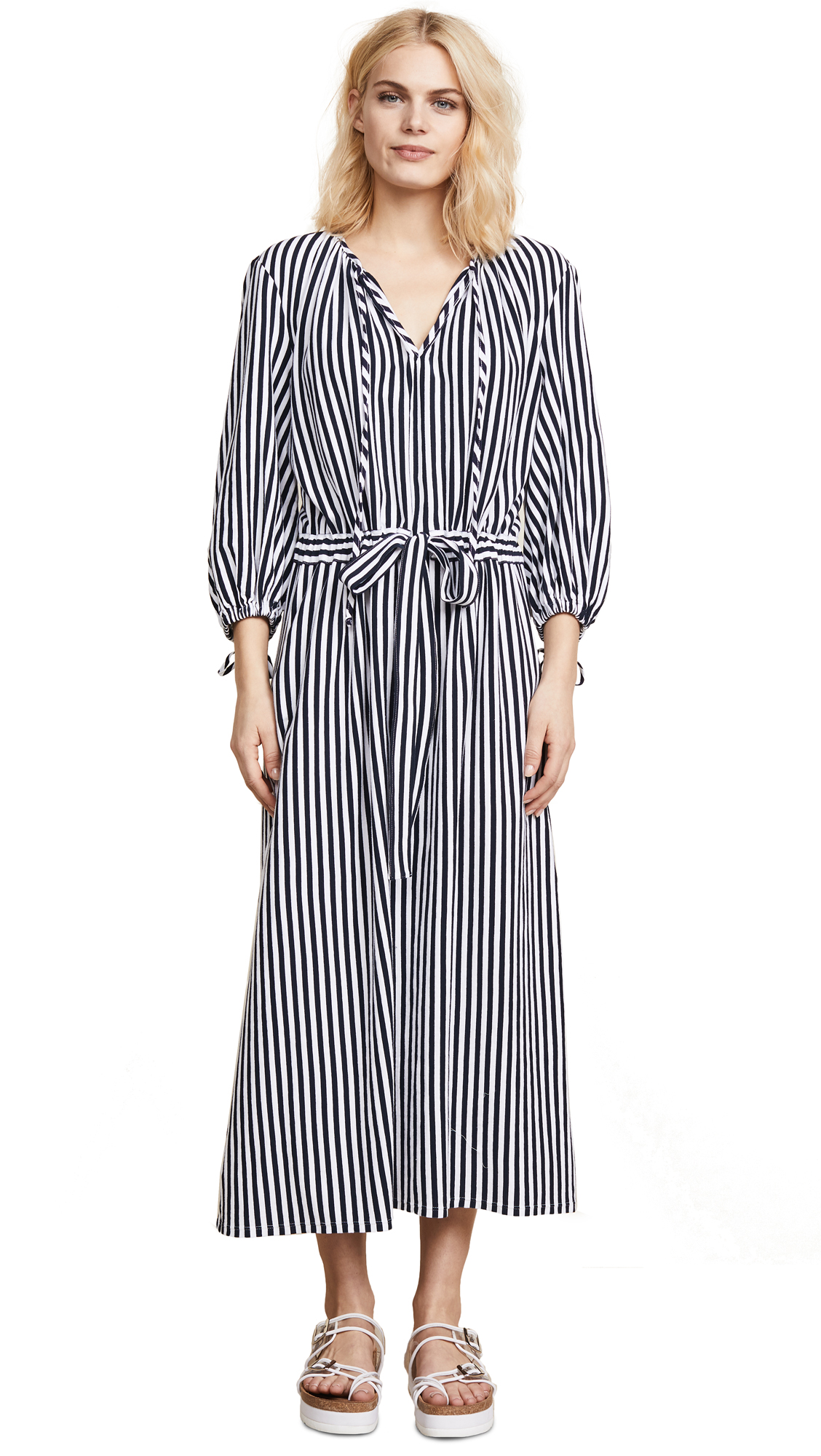 MDS Stripes Garden Dress