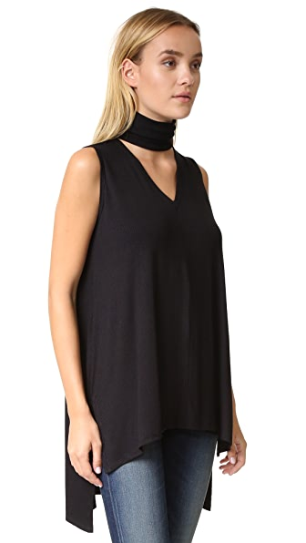 Meesh & Mia New Orleans Saints Women's Heather Top with Lace Sleeves - Black