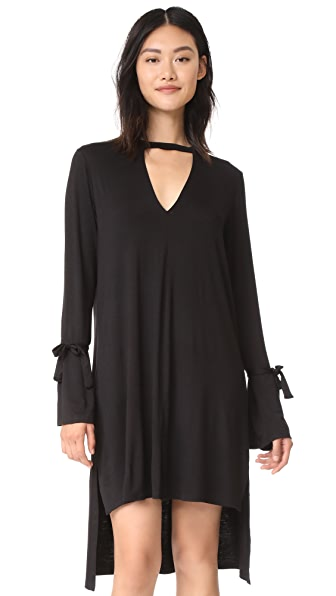 MEESH Page Dress In Black