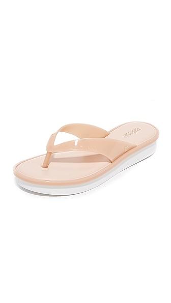 Melissa New High Thong Sandals - Light Pink